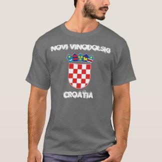 Novi Vinodolski, Croatia with coat of arms T-Shirt