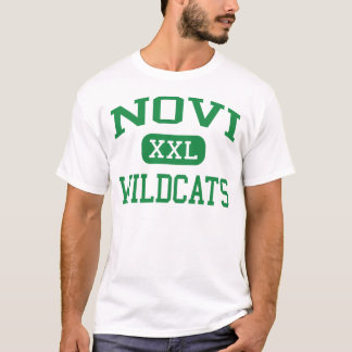 Novi - Wildcats - Novi High School - Novi Michigan T-Shirt