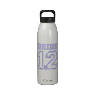Novia 12 (púrpura violeta) del equipo universitari botella de beber