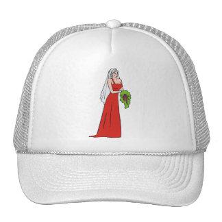 Novia 7 del boda gorra