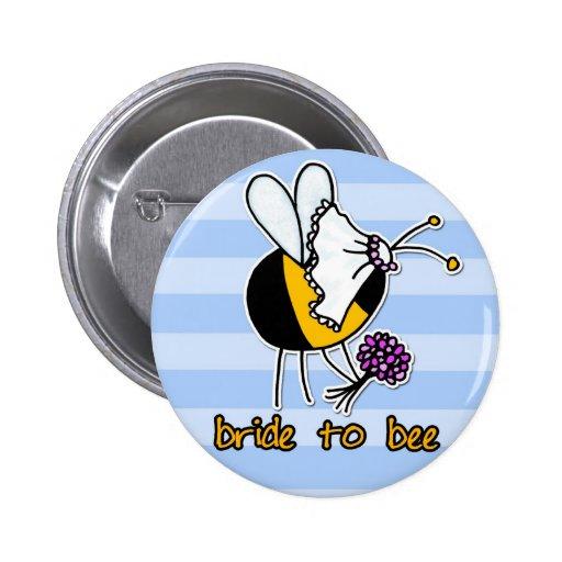novia a la abeja pins