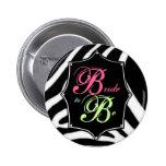 Novia a ser botón de Bachelorette Pin