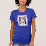 Novia asentada camisetas