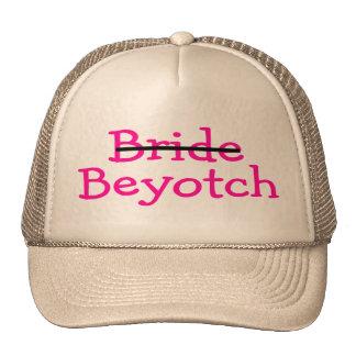Novia Beyotch (rosa) Gorros Bordados