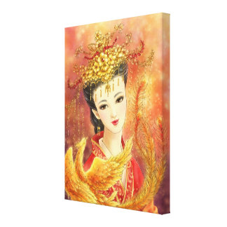 Novia china con la impresión de la lona de la fant impresiones en lona estiradas