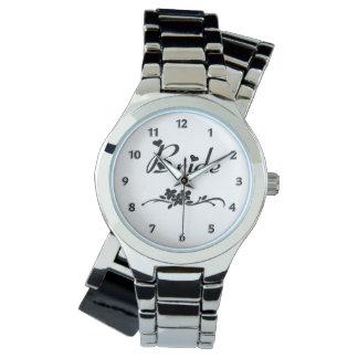 Novia clásica relojes de mano