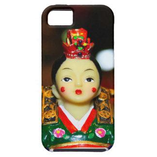 Novia coreana iPhone 5 carcasa