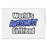 Novia de Awesomest del mundo Felicitaciones