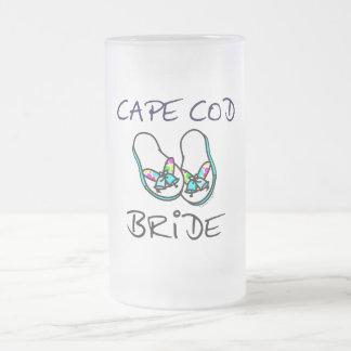 Novia de Cape Cod Taza De Cristal