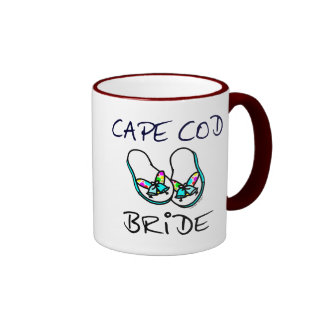 Novia de Cape Cod Taza De Dos Colores