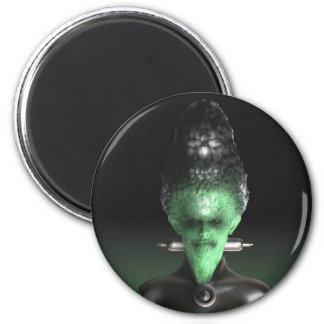 Novia de Frankenstein - el imán de Halloween