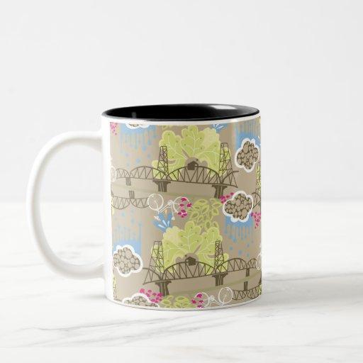 Novia de Hawthorne, taza de café de PDX