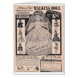 novia de Hollywood de la muñeca de los años 50 que Tarjeton
