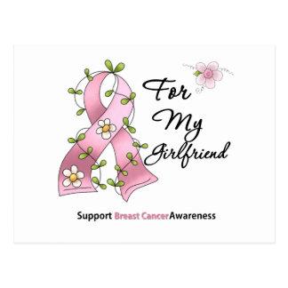 Novia de la ayuda del cáncer de pecho postal