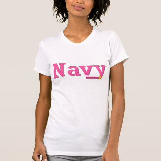 Novia de la marina de guerra camiseta