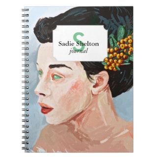 Novia de la nieve note book