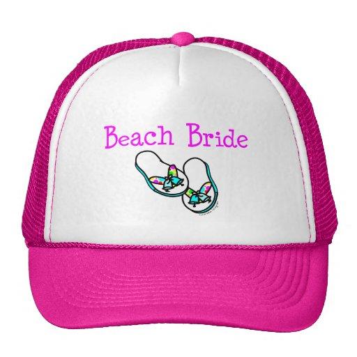 Novia de la playa gorra