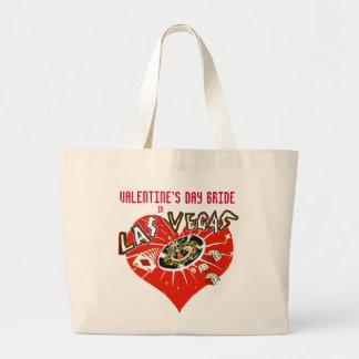 Novia de la tarjeta del día de San Valentín de Las Bolsas De Mano