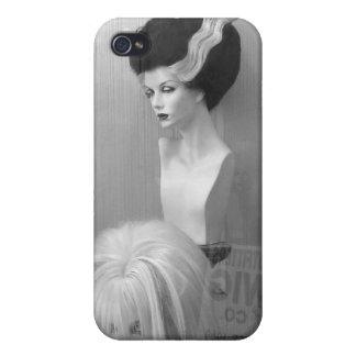 Novia de las pelucas de Frankenstein iPhone 4 Funda