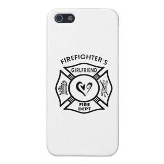 Novia de los bomberos iPhone 5 carcasas