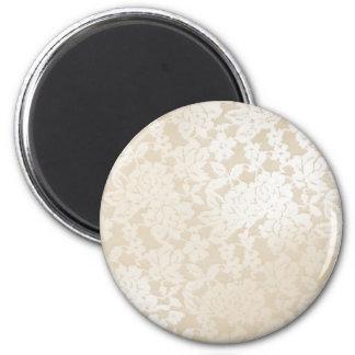 Novia de marfil imán redondo 5 cm