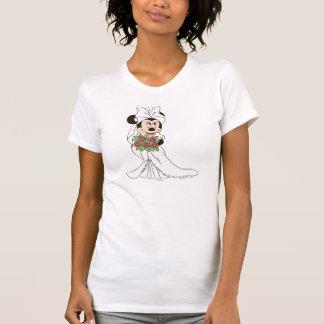 Novia de Minnie Mouse el | en el boda Camisas