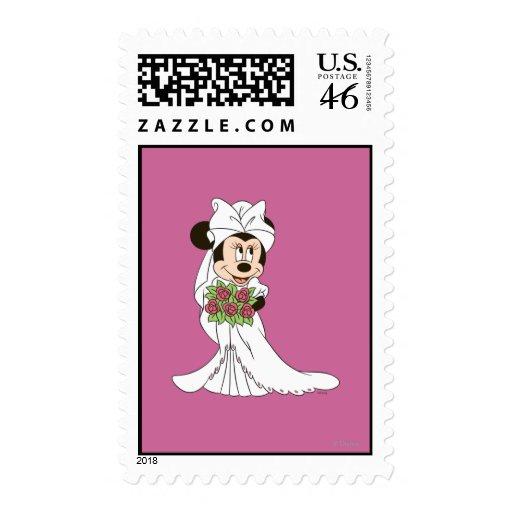 Novia de Minnie Mouse Sellos