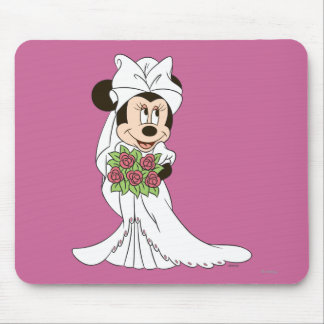 Novia de Minnie Mouse Tapete De Ratón