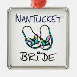 Novia de Nantucket Ornamentos De Navidad