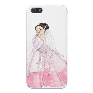 Novia de Sakura iPhone 5 Carcasas