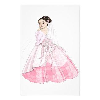 Novia de Sakura Papelería Personalizada