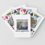 Novia de Sandy del huracán de Frankenstorm Baraja Cartas De Poker