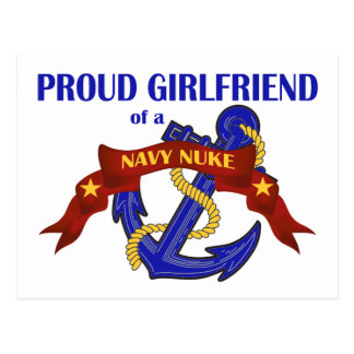 Novia de un arma nuclear de la marina de guerra postales