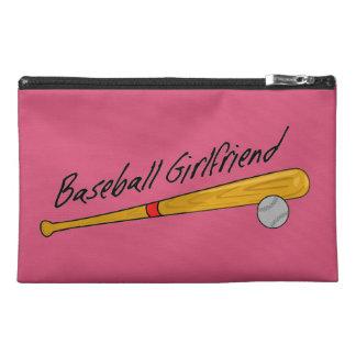 Novia del béisbol - bolso del accesorio del viaje