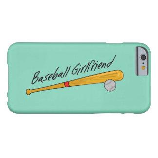 Novia del béisbol - caso del iPhone Funda Para iPhone 6 Barely There