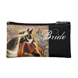 novia del boda del país occidental del vaquero del