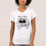 Novia del cráneo camiseta