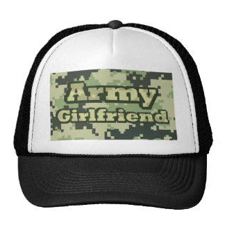 Novia del ejército gorras