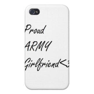 Novia del ejército iPhone 4/4S fundas