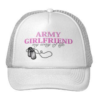 Novia del ejército, mi manera de vida gorras