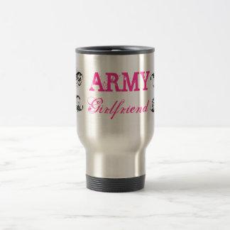 Novia del ejército taza de viaje de acero inoxidable