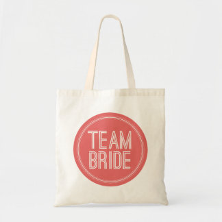 Novia del equipo - la bolsa de asas del boda