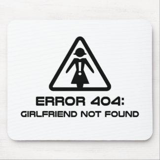 Novia del error 404 no encontrada tapete de raton