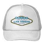 Novia del gorra de Las Vegas