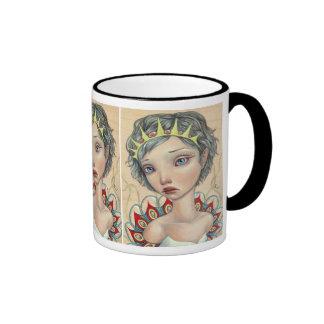 Novia del mar taza de café