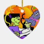 Novia del ornamento de Frankenstein Adorno Para Reyes