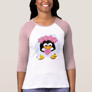 Novia del pingüino tshirt