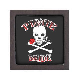 Novia del pirata caja de joyas de calidad