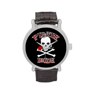 Novia del pirata relojes de mano
