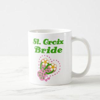 Novia del St Croix Tazas De Café